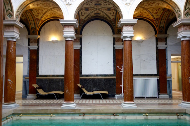 Spa in Marianske Lazne at Roman Baths Nove Lazne
