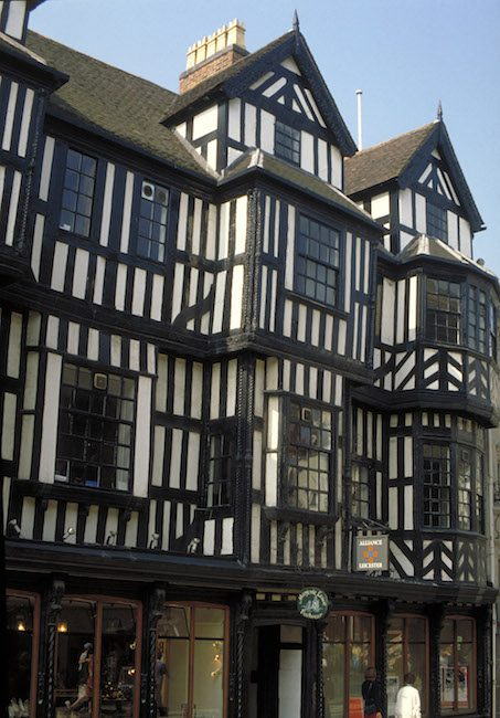 Castle street in Shrewsbury, most haunted place in England