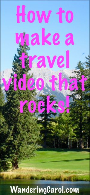 How to make a travel video that rocks Pinterest photo
