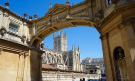 Jane Austen in Bath, Abbey view
