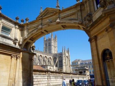 Jane Austen in Bath, Abbey view