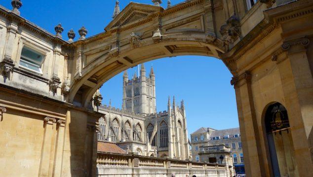 Spa like Jane Austen in Bath
