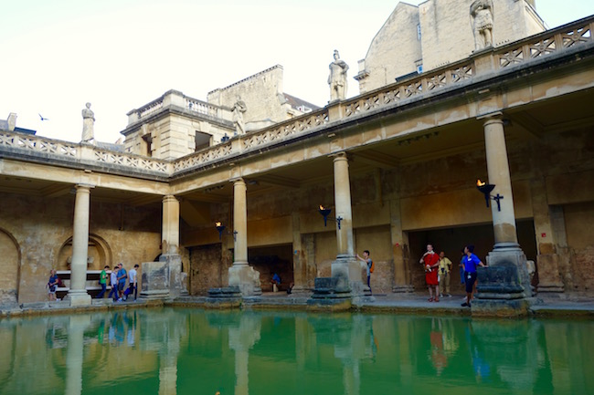 Roman Baths of Bath England