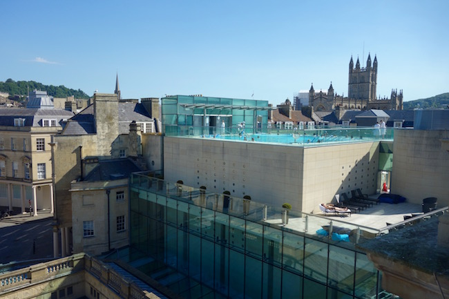 Spa like Jane Austen in Bath at Thermae