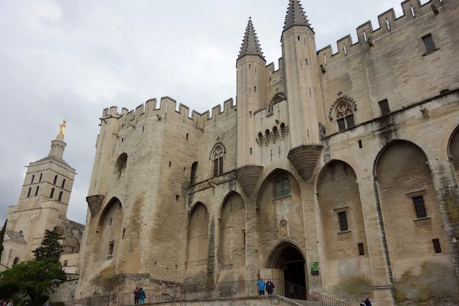 Avignon Cathedral and Palace of the Popes