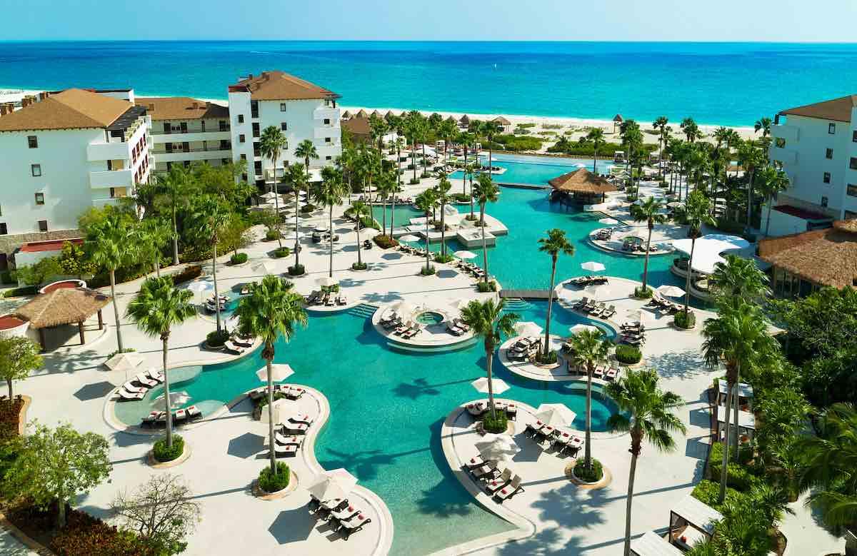 secrets playa mujeres all inclusive mexico resort pools