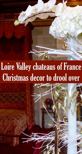 If you like Christmas lights, French style and holiday decor, don't miss seeing the grand chateaus of the Loire Valley at Christmas.