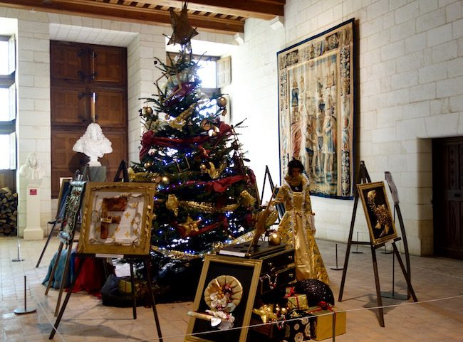 Christmas at the Domaine de Chambord