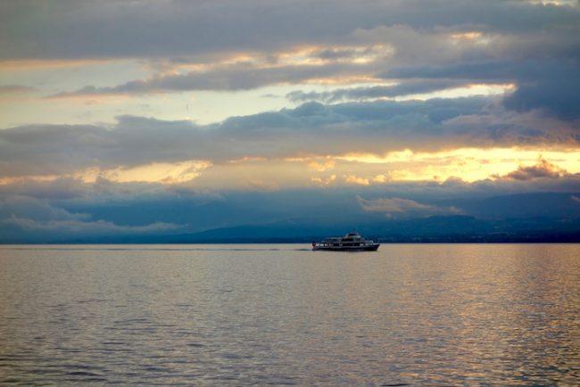 Clouds over Lake Geneva