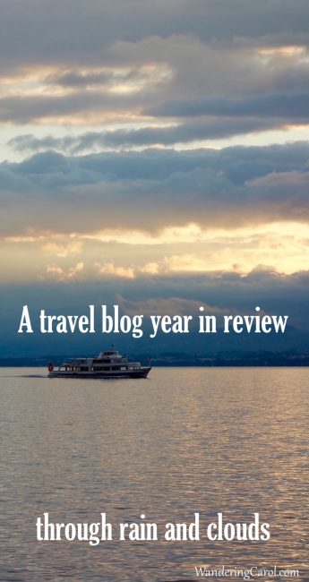 This is a light-hearted, yet slightly dismal, travel blogger's year in review for 2016