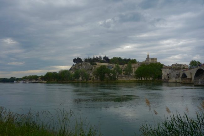 Year in review travel blog Avignon