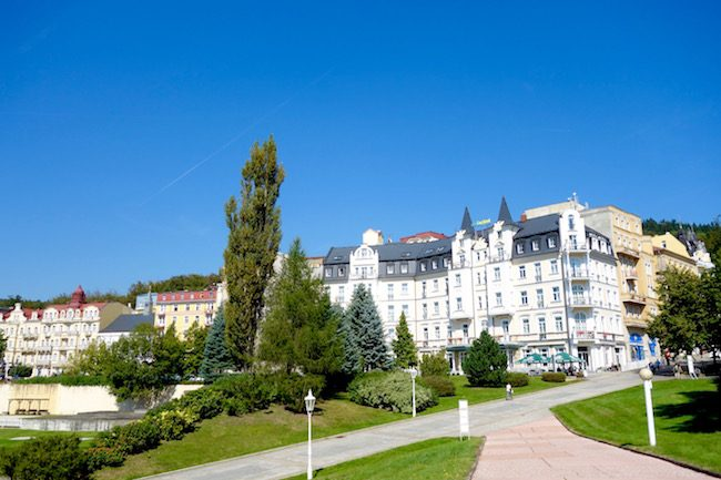 Day trip to Marianske Lazne, Czech spa town