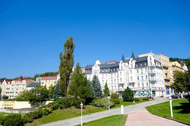 Day trip to Marianske Lazne, Czech spa town