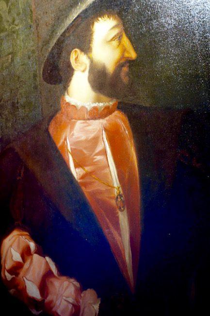 Francois I at Chateau de Chambord