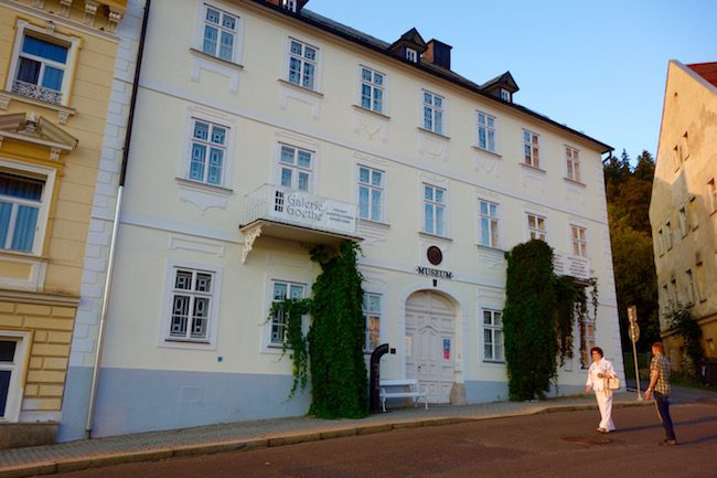 Goethe Museum Marianske Lazne