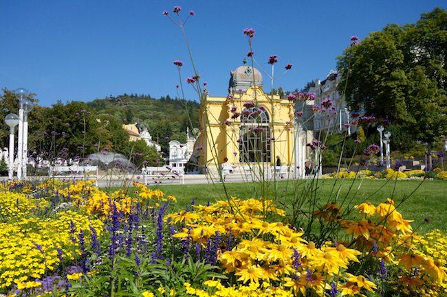 One day in Marianske Lazne Czech Republic