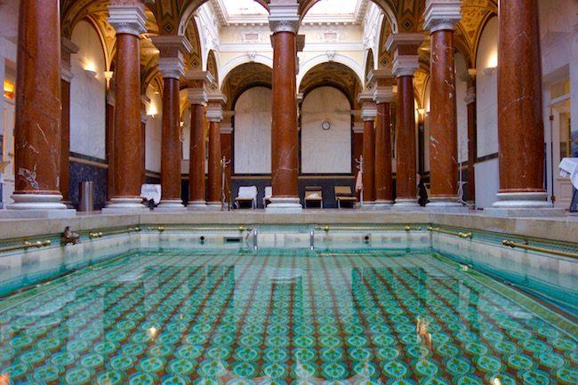 How to spa, pools at Marianske Lazne
