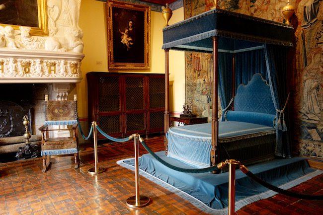 Chateau de Chenonceau Diane de Poitiers bedroom