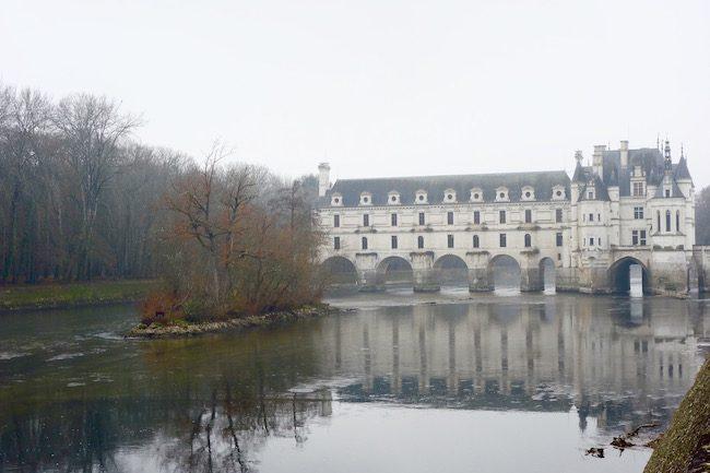 Chenonceau castle Diane de Poitiers and Catherine de Medici