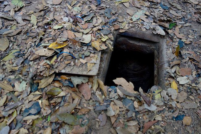 Cu Chi Tunnels Vietnam, day trip from Saigon