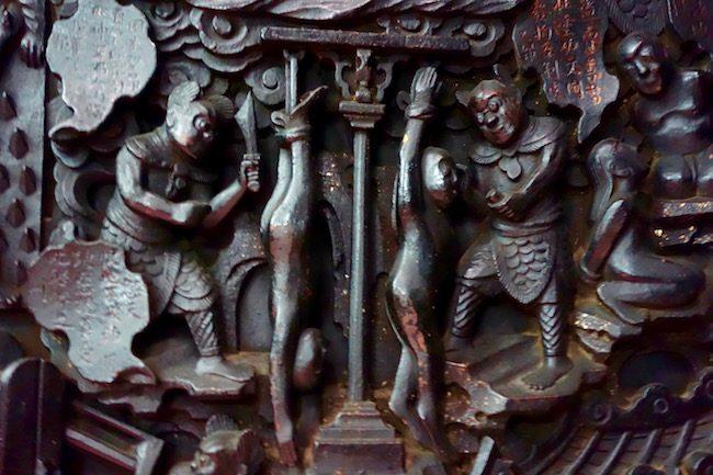Emperor Jade Pagoda Ho Chi Minh Hall of 10 Hells