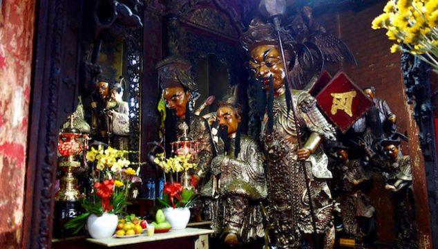 Jade Emperor Pagoda in Ho Chi Minh City, Saigon attractions