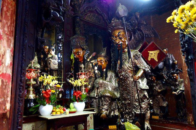 Four Diamonds Jade Emperor Pagoda in Saigon