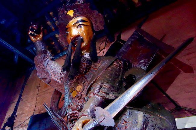 Taoist General at Jade Pagoda Saigon