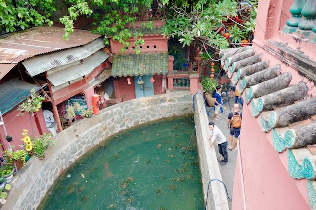 Tortoise Pagoda, Ho Chi Minh, Saigon