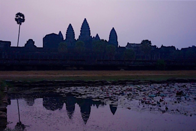 Angkor Wat best place to see the sunrise?