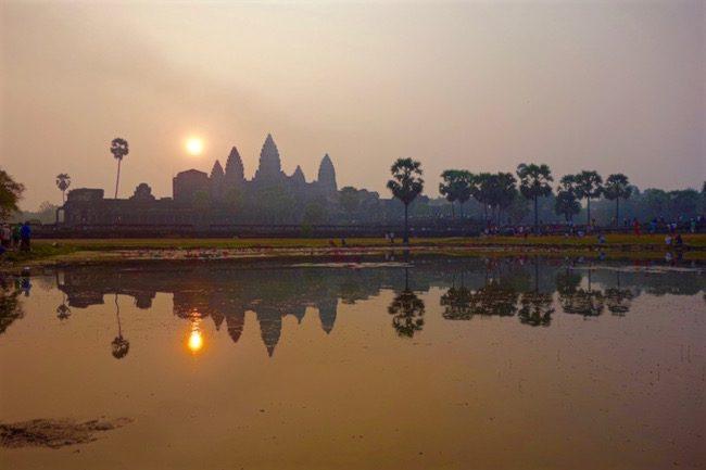 Angkor Wat where to eat Siem Reap