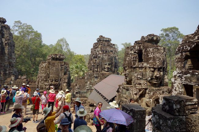 Bayon, the Face Temple, Angkor Wat