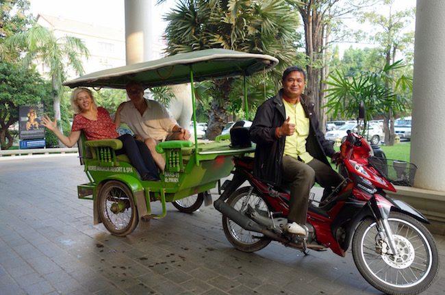 Tuk tuk at Siem Reap