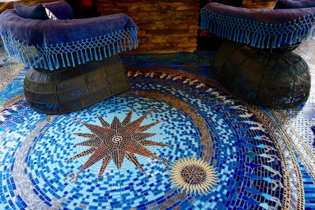 Keemala Phuket design mosaic floor