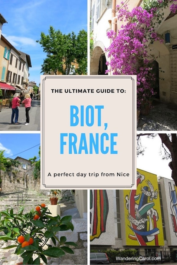 One day in Biot, France