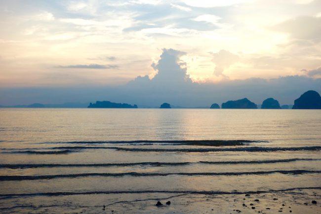 View of Hong Islands from Tubkaak Beach