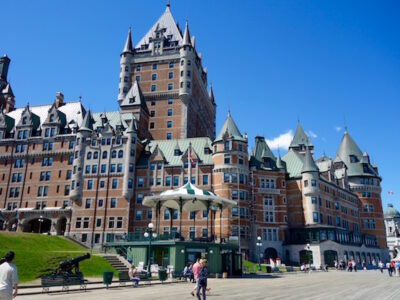 Hotel Frontenac, what to see in Quebec City