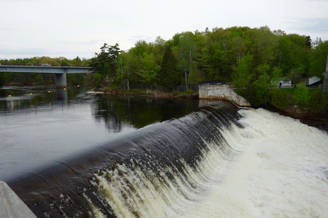 Montmorency Falls from the top