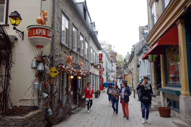 Petit Champlain, where to visit in Quebec City Lower Town