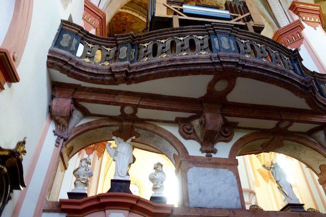 Tepla church Czech Republic