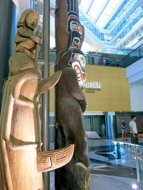 Totem Poles at Canada Place
