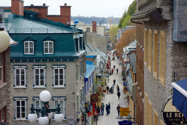 Visit Petit Champlain in Quebec City