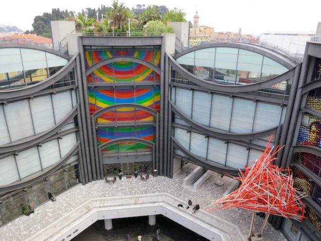 Visit the Museum of Modern Art in Nice, France