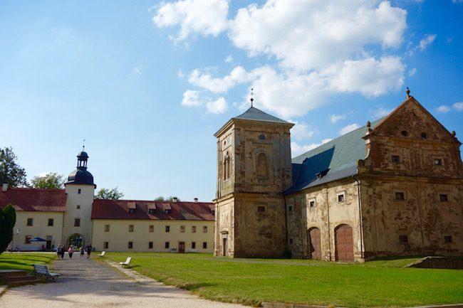 Visiting Tepla Monastery from Marianske Lazne