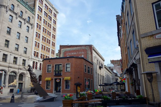 Where to go in Quebec City, explore St Paul Street