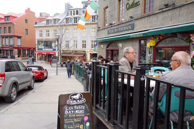 Where to go in Quebec City, rue Saint Jean