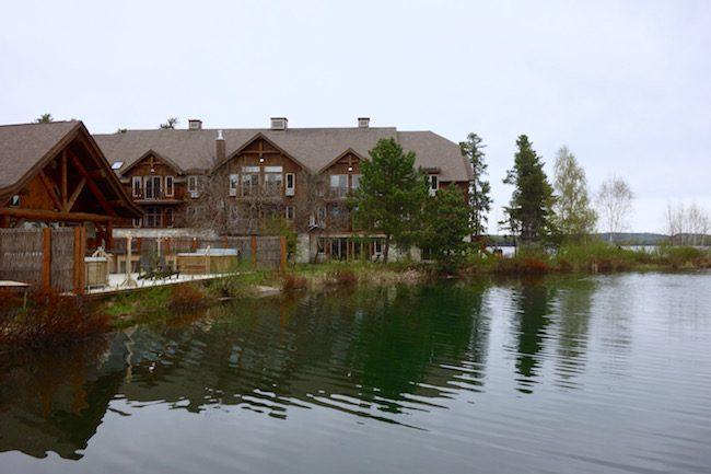 Auberge du Lac Taureau, Quebec road trip
