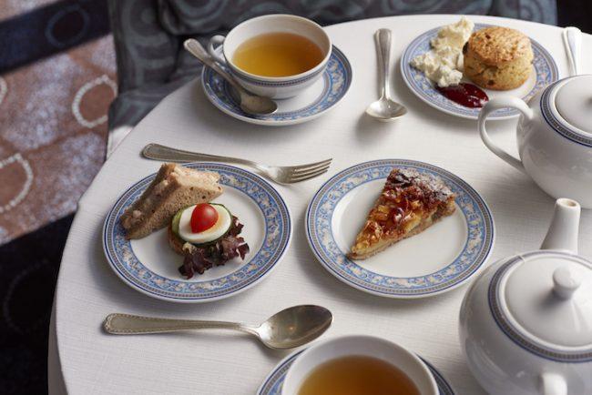 High tea on Oceania Cruises