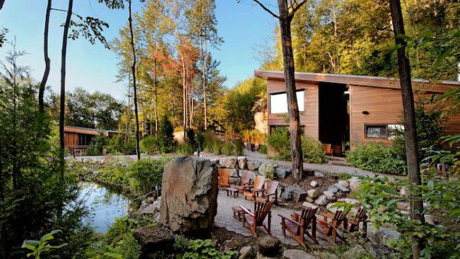 La Source Bains Nordiques near Montreal