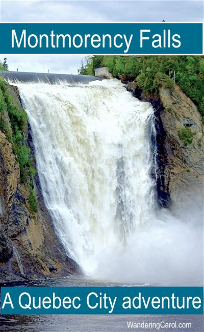 Montmorency Falls Quebec Is A Top Excursion From Quebec City, Canada. From  Scenic Views